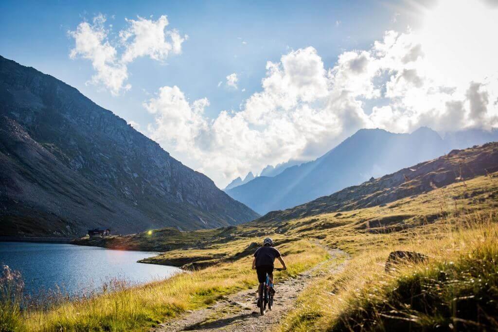 Ein Mountainbike Traum